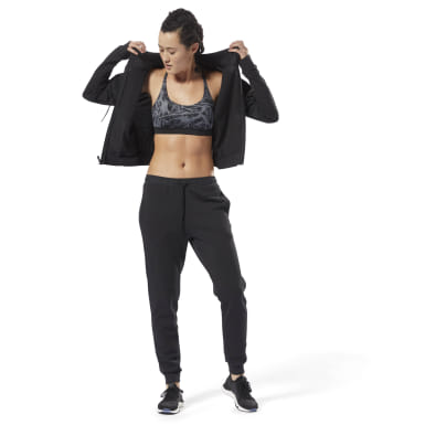 Women Fitness & Training Black Training Essentials Track Suit
