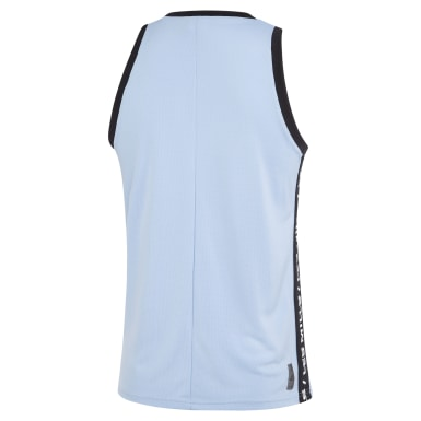 Men Studio Blue LES MILLS® Basketball Tank Top