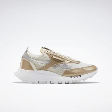 Women Classics Beige Classic Leather Legacy Shoes