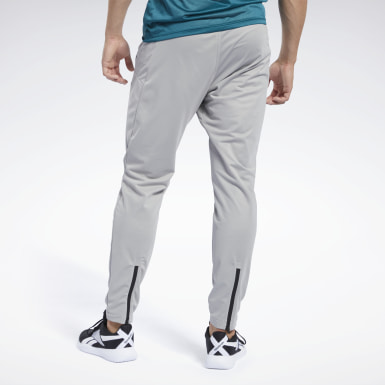 Men Training Grey Workout Ready Track Pant