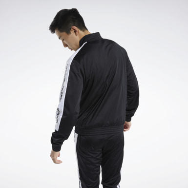 Männer Fitness & Training Training Essentials Track Jacket Schwarz