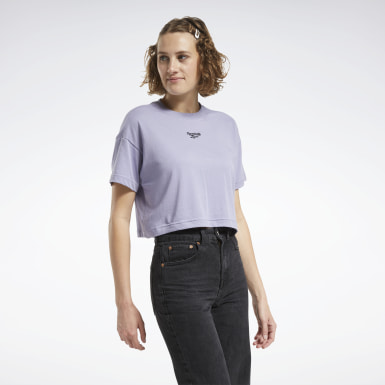 Frauen Classics Cropped T-Shirt