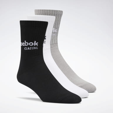 Classics Classics Core Crew Socks Three Pack Schwarz