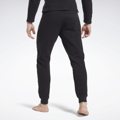 Heren Fitness & Training Zwart Combat Waffle Joggingbroek