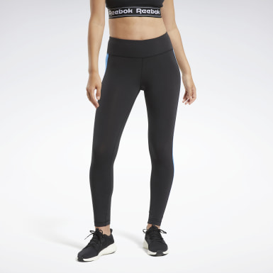 Kvinder Fitness & Training Black Training Essentials Linear Logo Leggings
