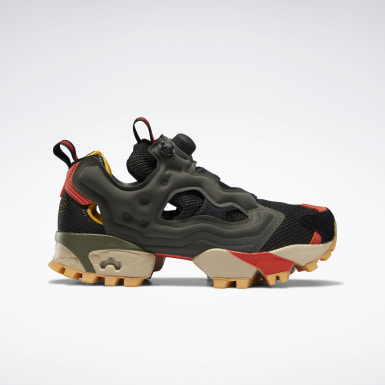 Classics Green Instapump Fury Trail Shoes