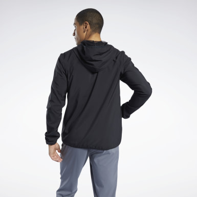 Mænd Hiking Black Training Essentials Jacket