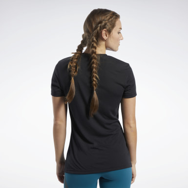 Polo Crossfit® Negro Mujer CrossFit