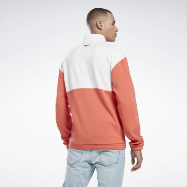Sweat 1/2 zip Orange Classics