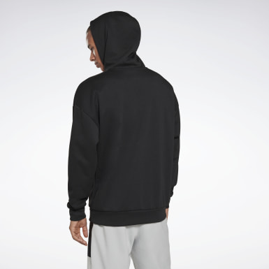 Men Fitness & Training Black MYT Hoodie
