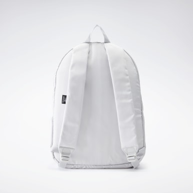 Mochila Linear Logo Blanco Fitness & Training
