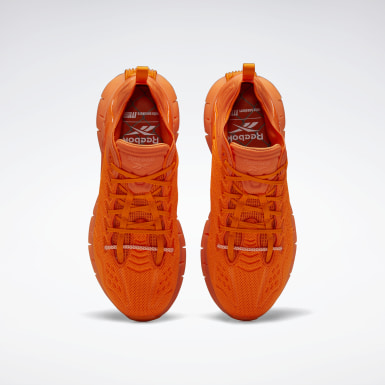 Men Lifestyle Orange Mita Zig Kinetica Shoes