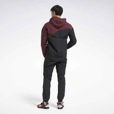 Mænd Fitness & Training Burgundy Track Suit