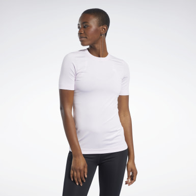 Dam Fitness & Träning Rosa Workout Ready Supremium Tee