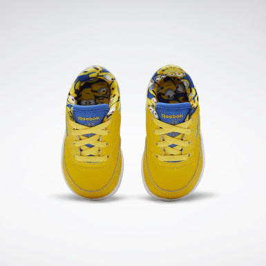 Girls Classics Yellow Club C 85 Shoes - Toddler