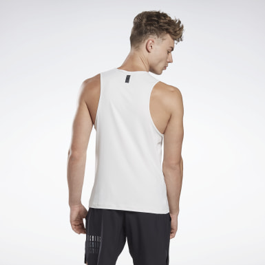 Men Cycling Grey LES MILLS® ACTIVCHILL Sleeveless T-Shirt