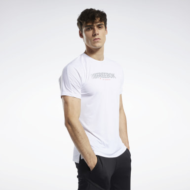 Men Fitness & Training White ACTIVCHILL Move Tee