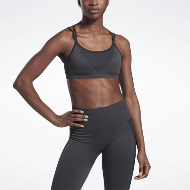Bra VB Seamless Grigio Donna Fitness & Training