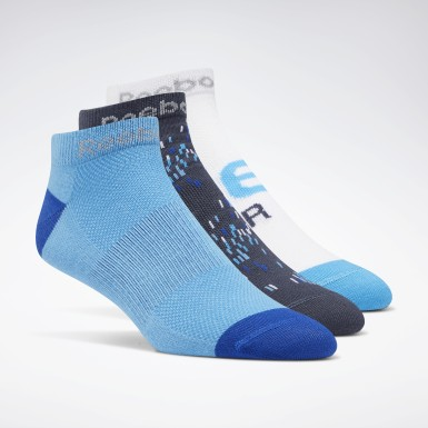 Men Running Blue Running Club Socks Three Pack