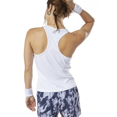 LES MILLS® Ribbed Racer Tank Top