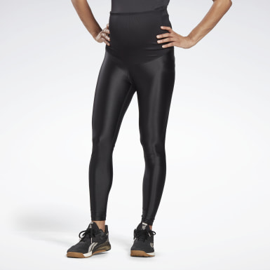 Legging de maternité brillant Black Femmes Studio