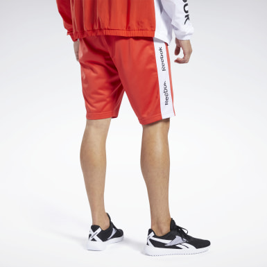 Pantalón corto Training Essentials Linear Logo Rojo Hombre Fitness & Training