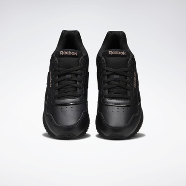 Dam Classics Svart Reebok Royal Glide Ripple Clip Shoes