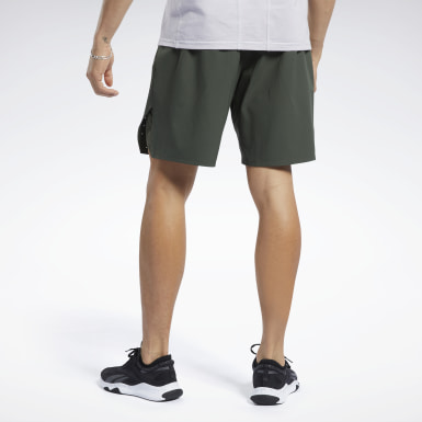 Men Fitness & Training Green United By Fitness Epic Shorts