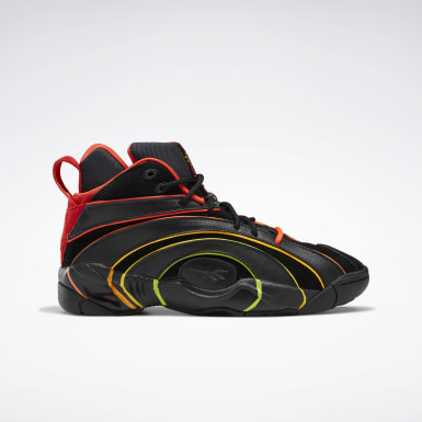 Classics Black Hot Ones Shaqnosis Basketball Shoes