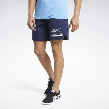Men Training Blue Epic Lightweight Shorts