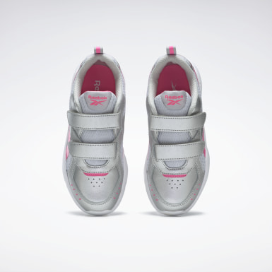 Girls Running Silver Reebok XT Sprinter Alt Shoes