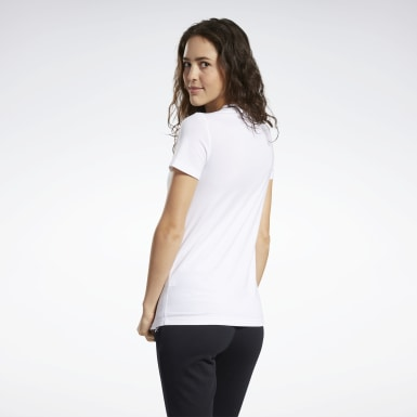 GRAPHIC TEE 2 Blanco Mujer Fitness & Training