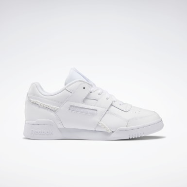 Women Classics White Workout Lo Plus Shoes