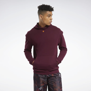 Hoodie MYT Bordeaux Hommes Fitness & Training