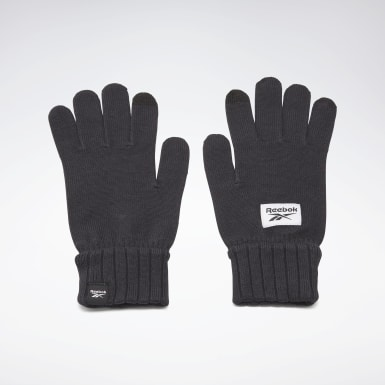 Guantes de punto Active Foundation Negro Fitness & Training