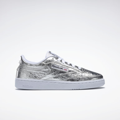 Women Classics Silver Club C Revenge Shoes