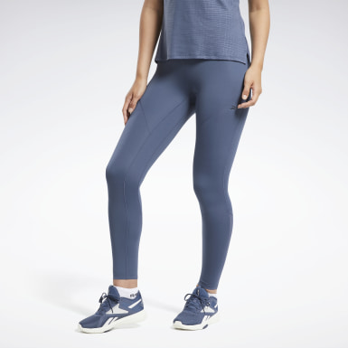 Kvinder HIIT Blue Reebok Lux Perform Tight