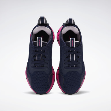 Girls Lifestyle Blue Zig Dynamica Shoes