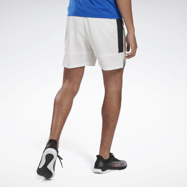 Short Running Essentials Blanc Hommes Trail Running