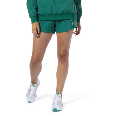 Women Training Green Meet You There Shorts