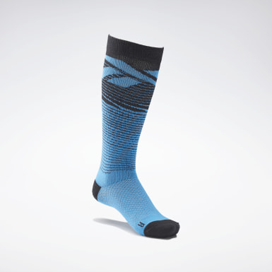 Chaussettes mi-montantes CrossFit® Engineered Bleu Cross Training