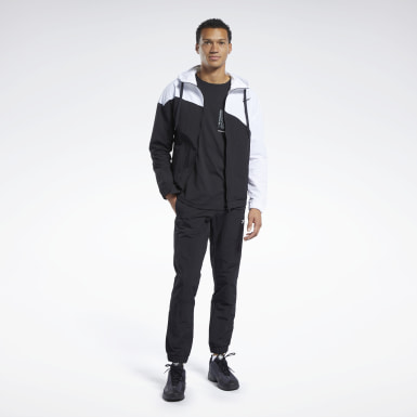 Men Fitness & Training White Track Suit