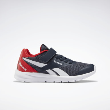 Boys Running Blue Reebok Rush Runner 2.0 Shoes