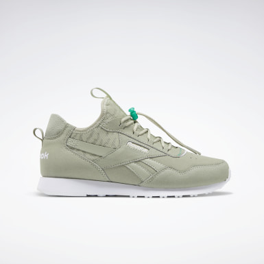 Women Classics Grey Reebok Royal Glide AC Shoes
