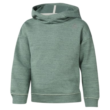 Girls Elements Marble Melange Hoody