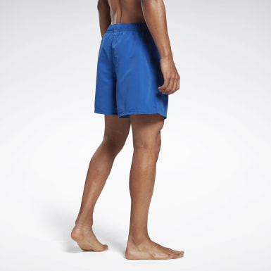 Men Swimming Blue Reebok Yestin Swim Shorts