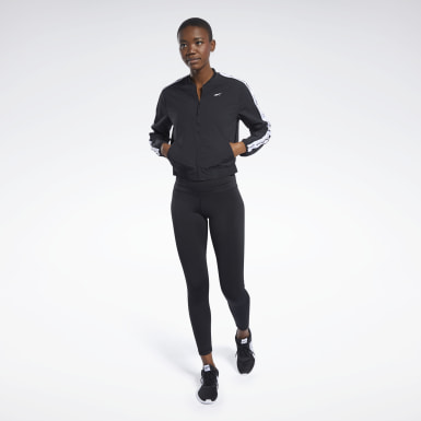 Women Fitness & Training Black Meet You There Track Suit