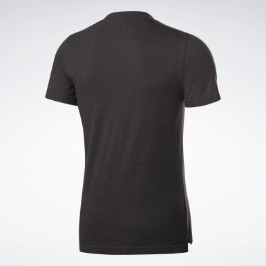 T-shirt chiné Training Essentials Noir Hommes Fitness & Training