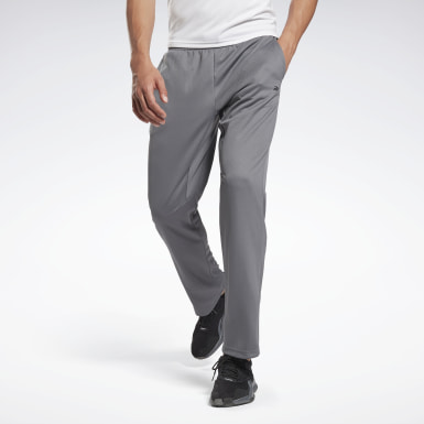 Men Training Grey Workout Ready Pants