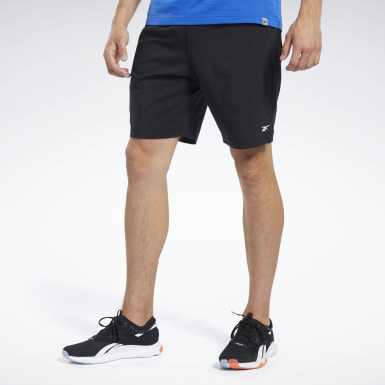 Men HIIT Black Workout Ready Shorts